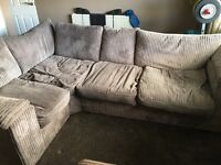 Corner sofa bed - delivery available