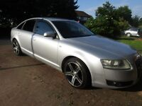 AUDI A6 2005 2.0 DIESEL MILES 140000 GREAT CLEAN CAR 4 NEW TYRES 18 ALLOY WHELLS NO FAULTS
