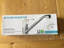 Kitchen mixer tap