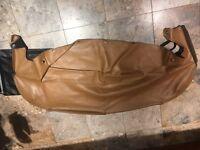 Mazda MX5 tan leather tonneau cover and case