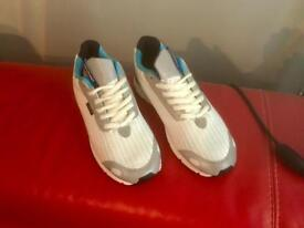 "Gourmet Trainers ""NEW"" ""White Scale"" Summer Trainers"