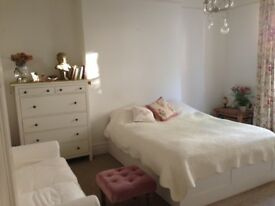 Beautiful big double room in Cotham Victorian flat with patio garden