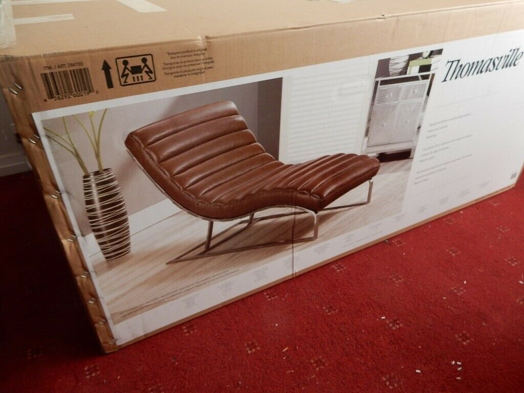 - Costco Chaise Lounge - Brand New In Box In Wirral, Merseyside