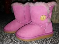 Brand new and never been worn kids Uggs size 10