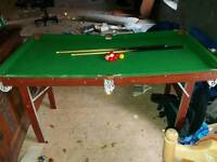 Kids Snooker Table good condition