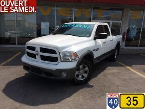2013 Ram 1500 QUAD CAB OUTDOORSMAN 5.7L 4X4