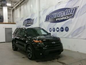 2015 Ford Explorer Sport W/ Ecoboost, Dual moonroof, Leather