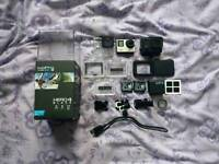 Go pro hero 4 black edition with original packaging