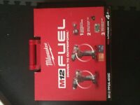 Milwaukee M12 Fuel Brushless Impact Driver and hammer drill set