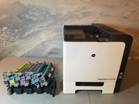 Konica magicolor 5670 Colour Laser Printer / A4 (TONERs TO BE REPLACED)