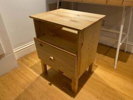 New Wooden IKEA Bedside Table