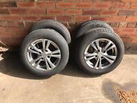 Ford alloys wheels tyres