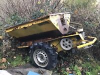 Towable Gritter Trailer 1 Ton capacity