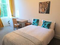 Excellent bedsit room to rent in Hillhead, west end. Most bills included. Great location.