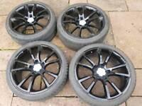 Vauxhall vxr alloy wheels pcd 5x110 19 inch
