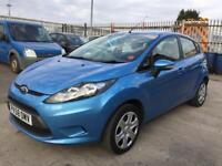 Ford Fiesta 1.2 petrol 5 door hatchback 12 month mot genuine low mileage
