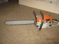 Chainsaw , MT-9999 . Used . Petrol/Oil . Collect Blackpool , FY1 .