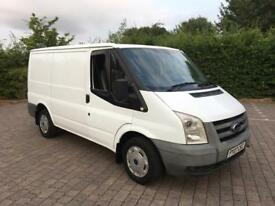 2007 Ford Transit 2.2 TDCi T260 SWB LOW ROOF, 126K MILES, 12 MONTHS MOT, NO VAT (Custom, Tourneo)
