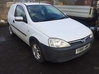 SALE! Bargain Vauxhall corsa van, NO VAT! 1.7 di, long MOT ready for work