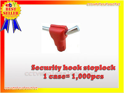 Security Stop Lock Hard Tag 1000 Pcs Checkpoint Compatible 8.2mhz