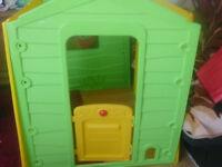 Brand new playhouse