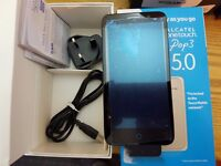 Alcatel one touch pop3 5.0 5015x GOLD Unlocked phone
