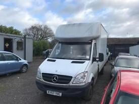 MERCEDES SPRINTER BOX VAN WITH ELECTRIC TAIL LIFT 2007 LONG MOT DRIVES THE BEST