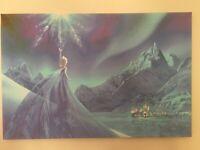 Disney Frozen Elsa Canvas Print 30X20 INCH / 76x50CM
