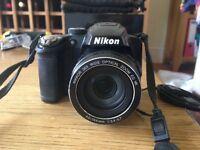 Nikon Coolpix P500 Digital Camera (36x wide optical zoom).