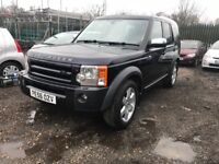 LAND ROVER DISCOVERY AUTO DIESEL 7 SEATS FULL LEATHER