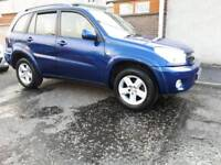 Low mileage Rav4 vvti