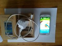 SAMSUNG GALAXY S4 MINI IN WHITE UNLOCKED ANY NETWORK BOXED