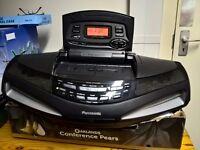 panasonic rx ed 77 'Cobra' radio cassette cd player.