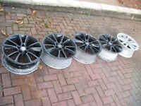 "Vauxhall Astra/Zafira VXR/GSI/SRI 19"" Inch Alloy Wheels/Rims Only. Set Of 5. Vectra/Signum"