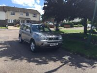 Nissan X-Trail 2.5 i SVE 5dr , FSH, Very good condition inside and out, SatNav, Towbar