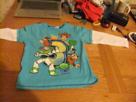 Age 4-5 Years Toy Story Top
