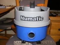 Henry Hoover Numatic 1200w with Blue base. NEW Tool Kit and Filter