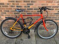 Raleigh Draken 18 gear mountain bike