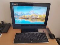 HP 310 TOUCHSMART COMPUTER and wireless key board wireless mouse included