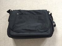 Black Mothercare Nappy Bag For Sale