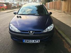 Peugeot 206 SW 1.4 HDI TD XL ESTATE £30 Road Tax. *DIESEL*