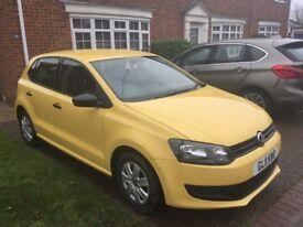2011 Yellow VW Polo. Full Service History. Mileage 36k.