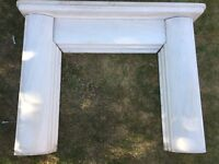 Fire surround in Natural Stone