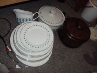 Alfred Clough dinner set