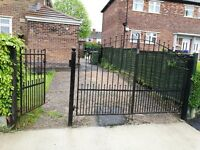 Very Heavy Wrought Iron Gates