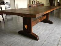 Reclaimed Barn Wood Harvest Tables and More