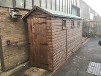 16 x 4 apex log lap shed