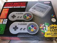 For Sale: New Super Nintendo SNES Classic Mini
