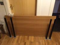 IKEA Desk with Adjustable Legs