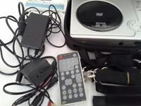 Zanon portable DVD player